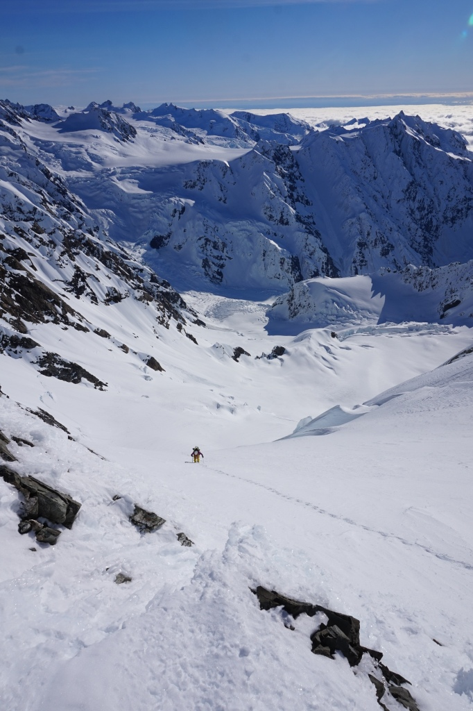 Votre guide fait du ski de rando, Symphony on skis, NZ