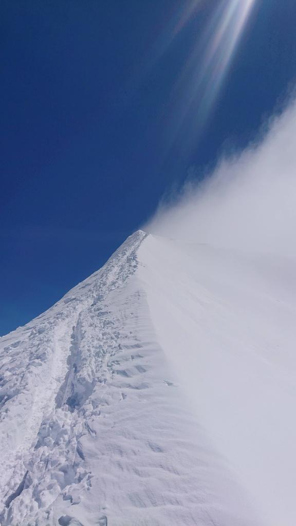 Arête sommital du Mont Blanc